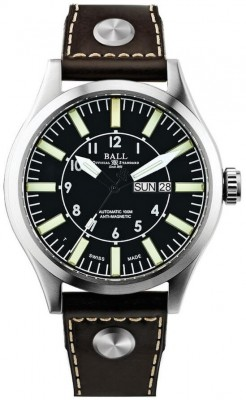Ball Engineer Master II Aviator NM1080CL13BK watch picture