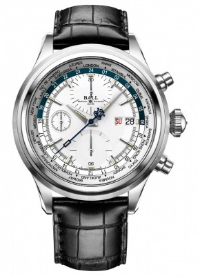 Ball Trainmaster Worldtime Chronograph CM2052DLL1JSLBE watch picture