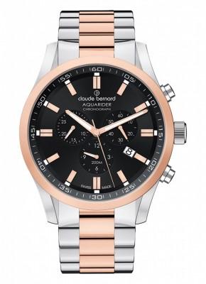 Claude Bernard Aquarider Chronograph 10222 357RM NIR watch picture