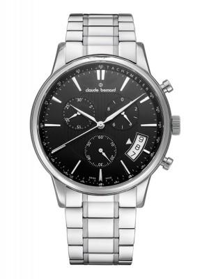 Claude Bernard Classic Chronograph Date Quarz 01002 3M2 NIN watch picture