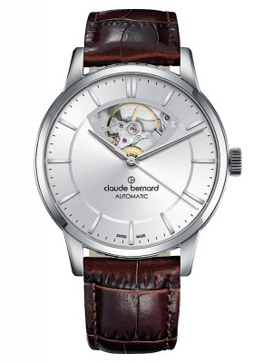 Claude Bernard Classic Open Heart Automatic 85017 3 AIN3 watch picture