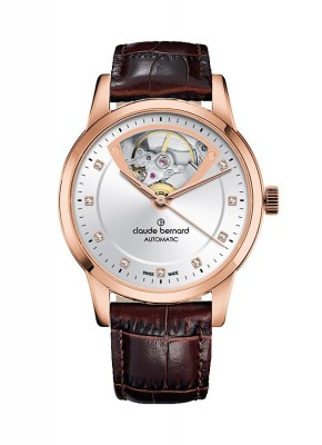 Claude Bernard Classic Open Heart Automatic 85018 37R AIR3 watch picture