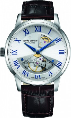 Claude Bernard Sophisticated Classics Automatic Open Heart 85017 3 ARBUN watch picture