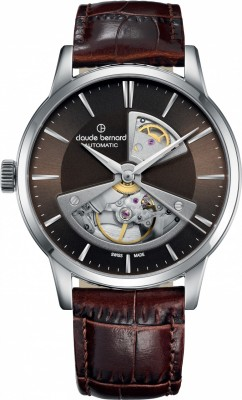 Claude Bernard Sophisticated Classics Automatic Open Heart 85017 3 BRIN2 watch picture