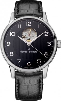 Claude Bernard Sophisticated Classics Automatic Open Heart 85017 3 NBN watch picture
