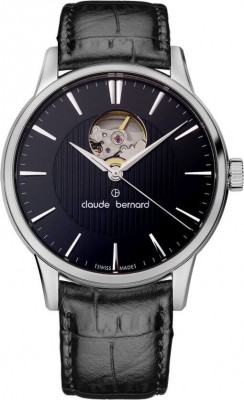 Claude Bernard Sophisticated Classics Automatic Open Heart 85017 3 NIN watch picture