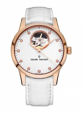 Claude Bernard Sophisticated Classics Open Heart Automatic 85017 37R APR watch picture