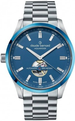 Claude Bernard Sporting Soul Aquarider Automatic Open Heart 85026 3MBU BUIN watch picture