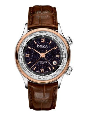 Doxa Blue Planet GMT D181RBU watch picture