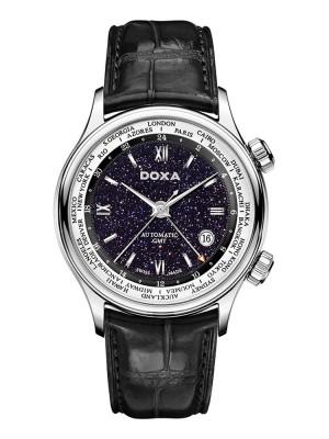 Doxa Blue Planet GMT D181SBU watch picture