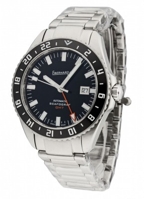 Eberhard Eberhard-Co Scafograf GMT Date Automatic 41038.01 CAD watch picture