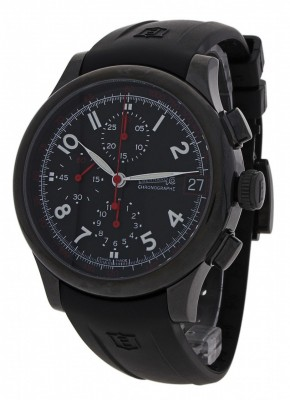 Eberhard Traversetolo Noir Limited Edition Chronograph Date 31053.1 CU watch picture