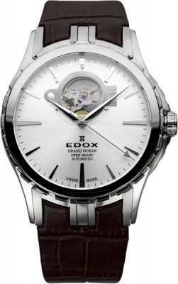 Edox Ausstellungsstuck Grand Ocean Automatic Open Heart 85008 3 AIN watch picture