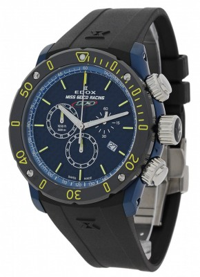 Edox Chronoffshore 1 Miss Geico Racing 113 Limited Edition Chronograph Quarz 10221 357BUJ BUJ113 watch picture