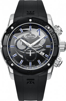 Edox Chronoffshore1 Chronograph Special Edition Curling 10221 3N NINCU watch picture