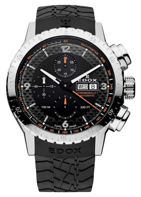 Edox Chronorally 1 Automatic Chronograph 01118 3 NO watch picture