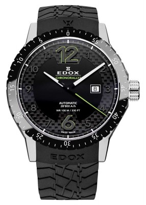 Edox Chronorally 1 Automatic Date 80094 3N NV watch picture