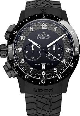 Edox Chronorally 1 Quarz Chronograph 10305 37N NN watch picture