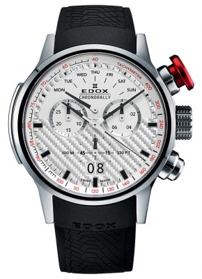 Edox Chronorally Big Date Chronograph 38001 TIN AIN watch picture
