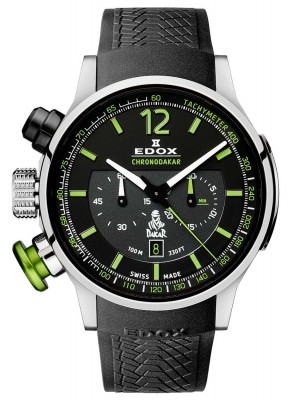 Edox Chronorally Chronodakar Limited Edition 2015 10303 TIN NV watch picture