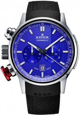 Edox Chronorally Chronograph 10302 3 BUIN watch picture