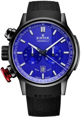 Edox Chronorally Chronograph 10302 37N BUIN watch picture