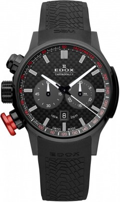 Edox Chronorally Chronograph 10302 37N NIN watch picture