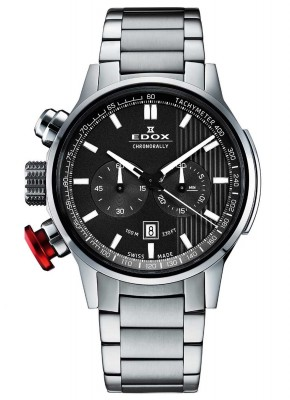 Edox Chronorally Chronograph 10302 3M GIN watch picture