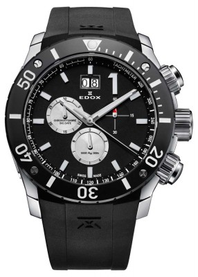 Edox Class 1 Chronoffshore Chronograph Big Date 10020 3 NIN3 watch picture