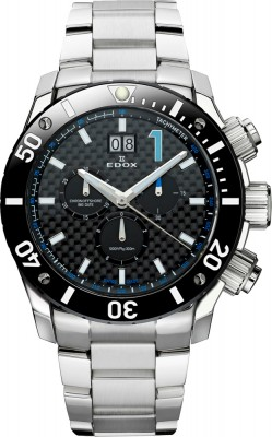 Edox Class 1 Chronoffshore Chronograph Big Date 10021 3 NBU watch picture