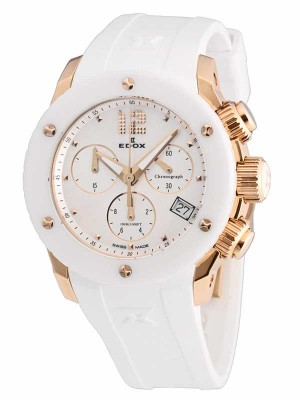 Edox Class 1 Damen Chronograph 10403 37RB NAIR watch picture