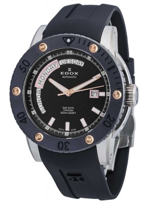 Edox Class 1 Day Date Automatic 83005 TINR NIR2 watch picture