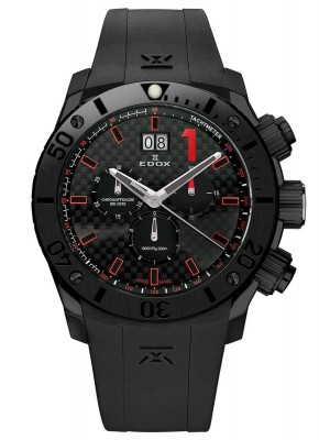 Edox Class1 Chronoffshore Chronograph Big Date 10020 37N NRO watch picture