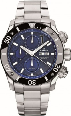 Edox Class1 Chronoffshore DayDate Chronograph 01114 3M BUIN watch picture