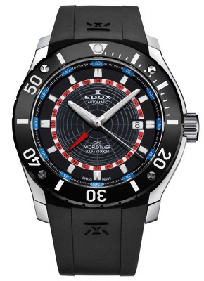 Edox Class1 GMT Worldtimer Automatic 93005 3 NBUR watch picture