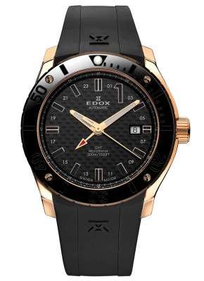 Edox Class1 GMT Worldtimer Automatic 93005 37R NIR watch picture