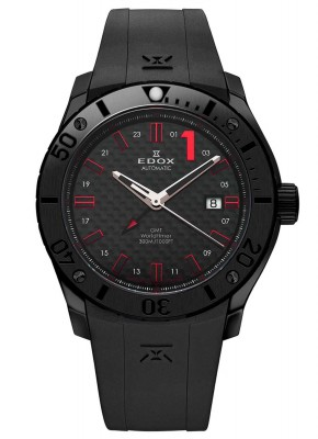 Edox Class1 Worldtimer GMT Automatic 93005 37N NRO watch picture