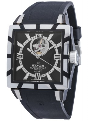 Edox Classe Royale Open Heart Automatic 85007 357N NIN watch picture