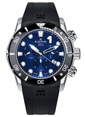 Edox CO1 Chronograph Date Quarz 10242 TIN BUIN watch picture