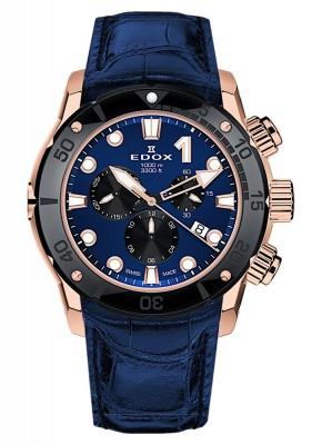 Edox CO1 Chronograph Date Quarz 10242 TINR BUIRN watch picture