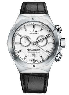 Edox Delfin Chronograph 10107 3C AIN watch picture