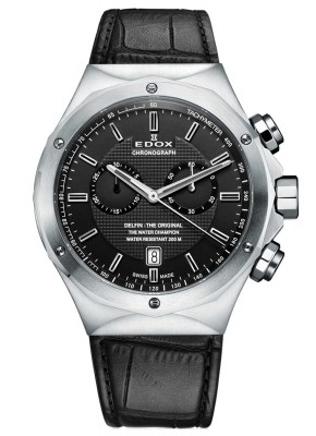 Edox Delfin Chronograph 10107 3C NIN watch picture