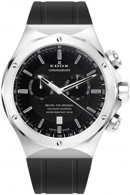Edox Delfin Chronograph 10107 3CA NIN watch picture