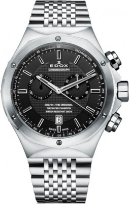 Edox Delfin Chronograph 10108 3 NIN watch picture