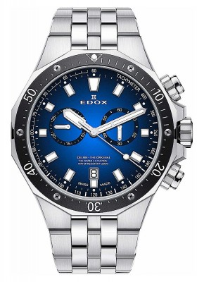 Edox Delfin Chronograph Date Qiarz 10109 3M BUIN watch picture