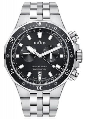Edox Delfin Chronograph Date Quarz 10109 3M NIN watch picture