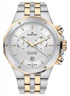 Edox Delfin Chronograph Date Quarz 10110 357JM AID watch picture