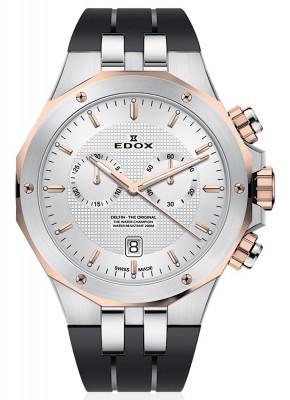 Edox Delfin Chronograph Date Quarz 10110 357RCA AIR watch picture