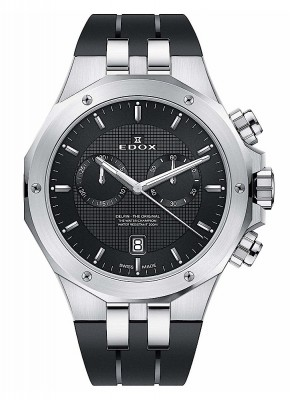 Edox Delfin Chronograph Date Quarz 10110 3CA NIN watch picture