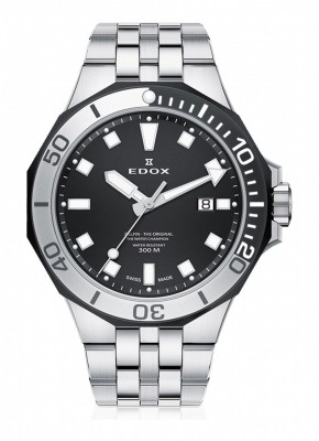 Edox Delfin Date 53015 357NM NIN watch picture